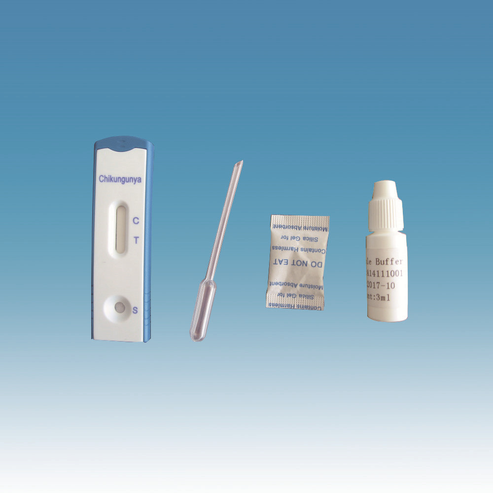 Medical IVD rapid diagnostic test kits Chikungunya IgG/IgM Test Card (INV-1036)